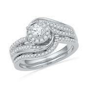 Unique Bridal Diamond Engagement Ring on Sale