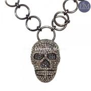 Pave diamond Necklace Supplier