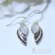 Moonstone Earring-Superb Deux